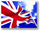 Photo drapeau anglais